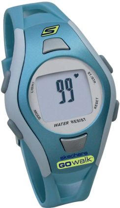 Skechers Go Walk SK4 Ladies Strapless Heart Rate Monitor Fitwatch - Blue