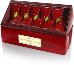 Winter Spice Tea Ribbon Box