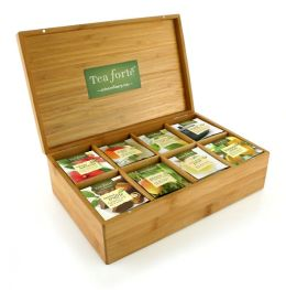 Tea Discovery Set - Bamboo Box with Filterbags