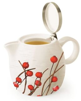 Winterberry PUGG Teapot in Gift Box