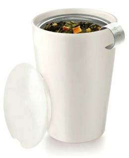 Orchid White Kati Cup - Tea Brewing System