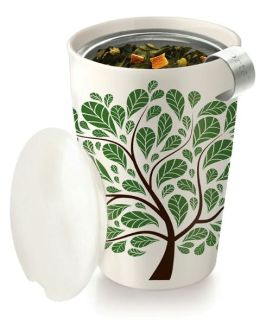 Green Leaves Kati Cup - Tea Brewing System