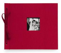 Newbury Tied Album in Red