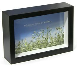 Chroma Black 4x6 Picture Frame
