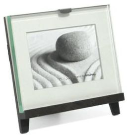 Easel Black 3x5 Picture Frame