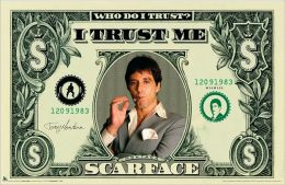 Scarface - Money - Poster