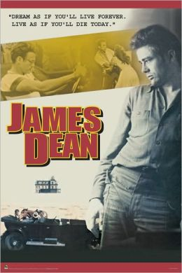 James Dean Collage - Poster