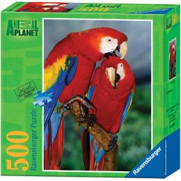 Animal Planet Scarlet Macaw 500 Piece Puzzle