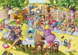 Antiques Hunt WASGIJ 1,000 Piece Puzzle