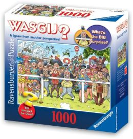 WASGIJ? - Ride Like the Wind 1000 Piece Puzzle