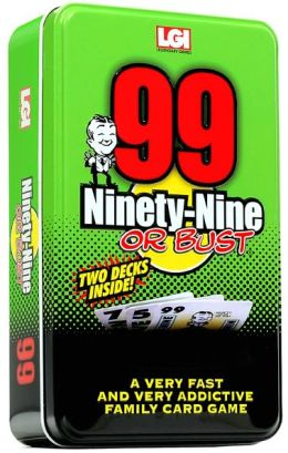 Ninty-Nine or Bust Card Game Tin