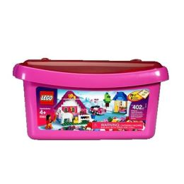 LEGO Bricks & More Pink Brick Box Large (5560)