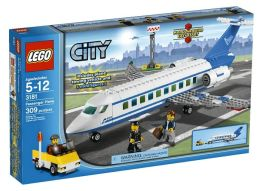 LEGO City Passenger Plane 3181
