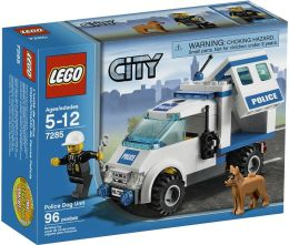 LEGO City Police Dog Unit 7285