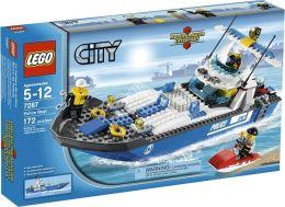 LEGO City Police Boat 7287