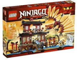 LEGO Fire Temple 2507