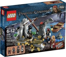 LEGO Pirates of the Caribbean Isla De la Muerta 4181