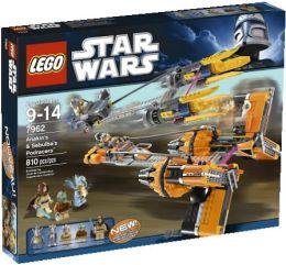 LEGO Anakin's & Sebulba's Podracers 7962