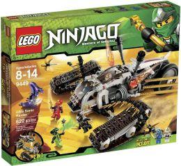 LEGO Ninjago Ultra Sonic Raider 9449