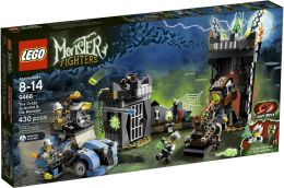LEGO Monster Fighters The Crazy Scientist and His LEGO Monster 9466