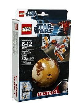 LEGO Sebulbas Podracer & Tatooine - 9675