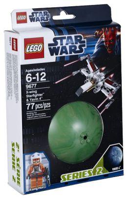 LEGO Star Wars X-wing Starfighter & Yavin 4 - 9677