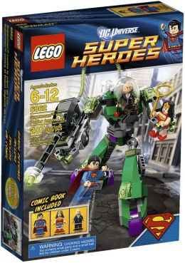 LEGO® Super Heroes Superman™ vs. Power Armor Lex 6862