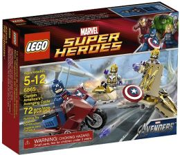LEGO Super LEGO Heroes Captain America's Avenging Cycle 6865