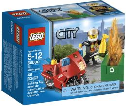 LEGO City Fire Fire Motorcycle 60000