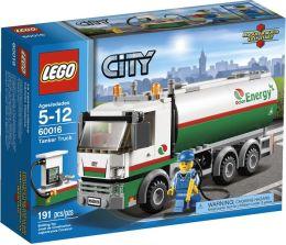 LEGO City Town Tanker Truck 60016