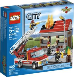 LEGO City Fire Fire Emergency 60003