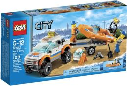 LEGO City 4x4 & Diving Boat 60012