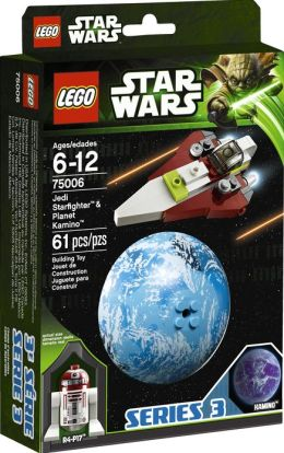 LEGO Star Wars Jedi Starfighter & Kamino 75006