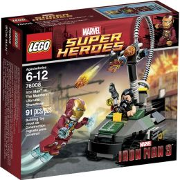 LEGO® Super Heroes Iron Man vs. The Mandarin: Ultimate 76008