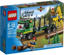 LEGO® City Logging Truck 60059