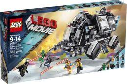 LEGO The LEGO Movie Super Secret Police Dropship 70815