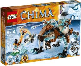 LEGO Legends of Chima Sir Fangar's Saber-Tooth Walker 70143