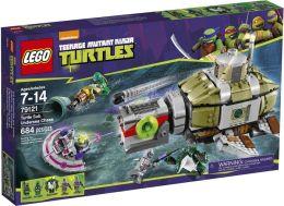 LEGO® Teenage Mutant Ninja Turtles: Turtle Sub Undersea Chase 79121