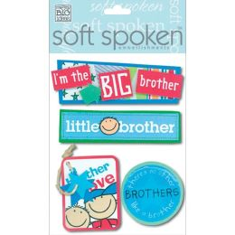 Soft Spoken Themed Embellishments-A Kid's Brother