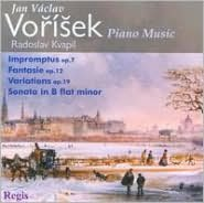 Jan Václav Vorísek: Piano Music