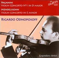 Paganini: Violin Concerto No. 1 in D major; Mendelssohn: Violin Concerto in E minor
