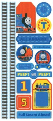 Thomas & Friends Stickers/Borders Packaged-Accents