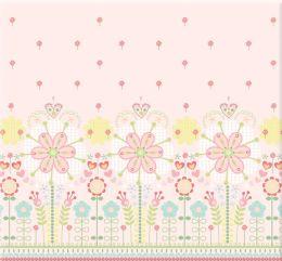 Baby Girl Embossed/Glittered Postbound Album 12