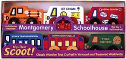 Maple Landmark 71075 MONTGOMERY SCHOOLHOUSE- SCOOTS- BOXED SET SCOOTS No. 2