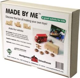 Maple Landmark 78250 Montgomery Schoolhouse - Made By Me Kits - Box Set Of 4