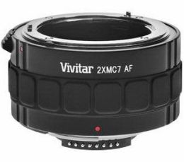 Vivitar 2x 7 Elements Teleconverter (for Canon EOS)