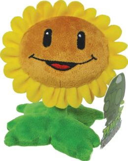Plants vs. Zombies 7 Inch Plush, Sunflower