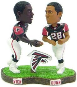 Atlanta Falcons Vick & Dunn Forever Collectibles Bobble Mates