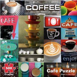 500 Piece Café Mod Puzzle