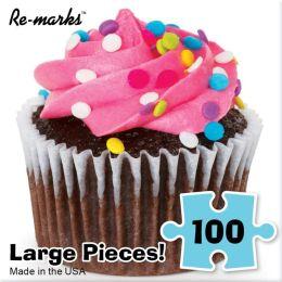 100 Piece Puzzle Cube, Tasty